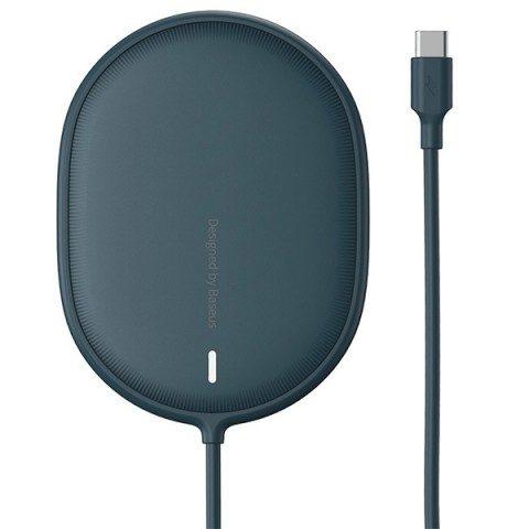 شارژر وایرلس مگنتی بیسوس مدل Light Magnetic Wireless Charger WXQJ-03.1