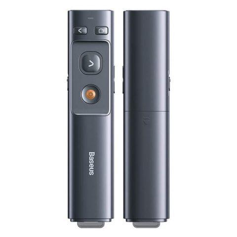 پوینتر و پرزنتر بی سیم بیسوس Baseus Orange Dot Wireless Presenter Red Laser ACFYB-B0G