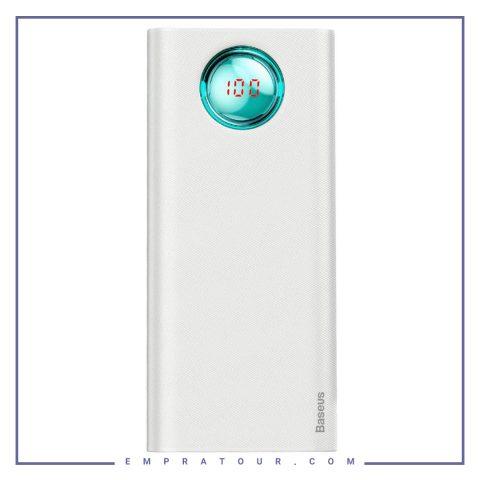 پاور بانک فست شارژ بیسوس Baseus Power Bank Mulight Quick charger 20000mAh PPALL-LG02