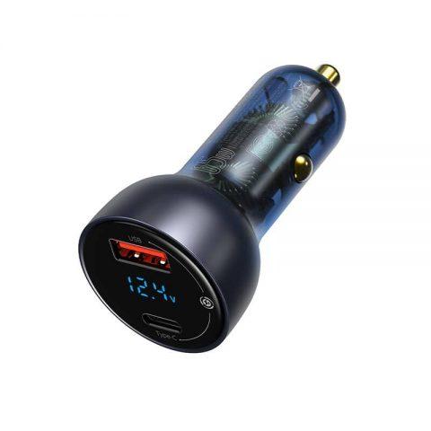 شارژر فندکی سریع دو پورت بیسوس Baseus Particular Dual Quick Charger 65W CCKX-C0A