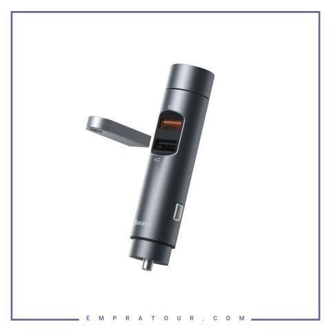 شارژر فندکی و پخش کننده بلوتوث