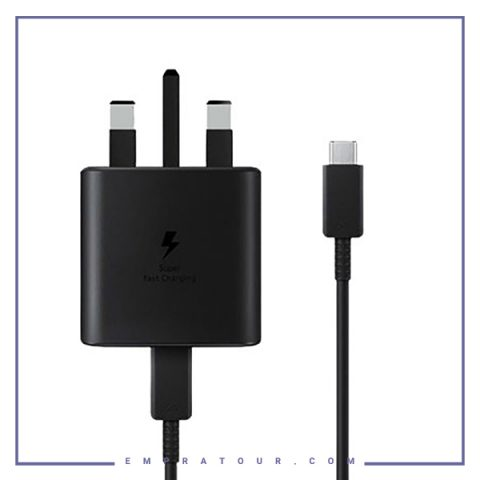 آداپتور-سوپر-فست-شارژ-اصلی-سامسونگ-با-کابل-Samsung-25W-PD-Adapter-EP-TA800