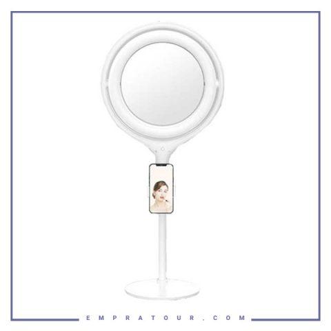 آینه شیائومی xiaomi desktop 70cm beauty mirror live lamp s12