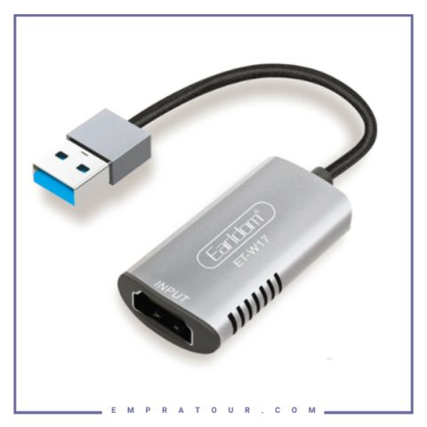 مبدل USB به HDMI ارلدام Earldom USB 3.0 to HD 4K ADAPTER ET-W17