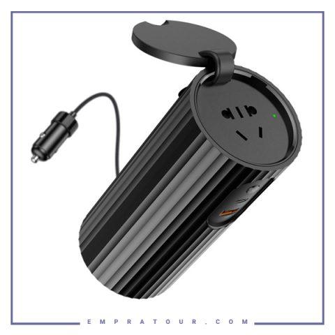 اینورتر برق خودرو راک مدل Rock Power Inverter Converter Adapter RCC0158