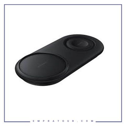 شارژر وایرلس دوتایی سامسونگ Samsung Duo Pad Wireless Charger EP-P5200TBEGUS