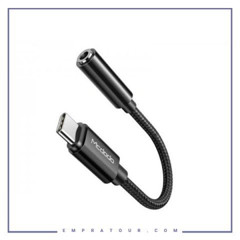 مبدل تایپ سی به صدا مک دود Mcdodo HiFi DAC Audio Cable CA-7560