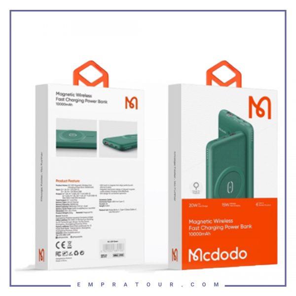 پاوربانک وایرلس مک دودو Mcdodo MC-5590 PD Power Bank 10000mAh 20W