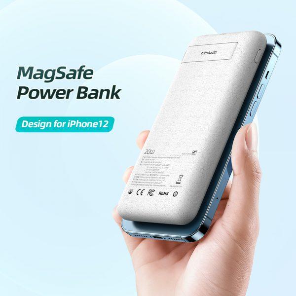پاوربانک وایرلس مک دودو Mcdodo MC-8640 PD Power Bank 20000mAh 20W