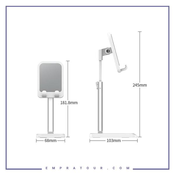 پایه نگهدارنده رومیزی گوشی و تبلت راک Rock RPH0944 Liftable Desktop Stand-6