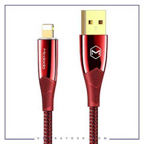 کابل شارژ لایتنینگ قطع کن دار مکدودو Mcdodo Auto Power Off Data Cable for Lightning CA-8061