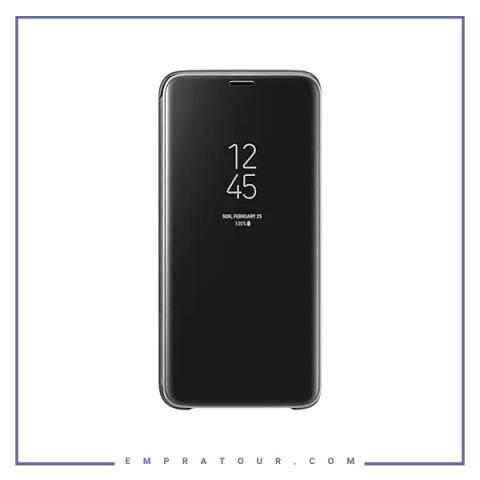 کیف کلاسوری شرکتی سامسونگ مدل SMART CLEAR STANDING VIEW COVER EF-ZG960 S9