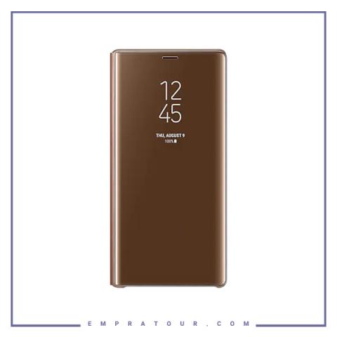 کیف کلاسوری شرکتی سامسونگ مدل SMART CLEAR STANDING VIEW COVER EF-ZN960 NOTE 9