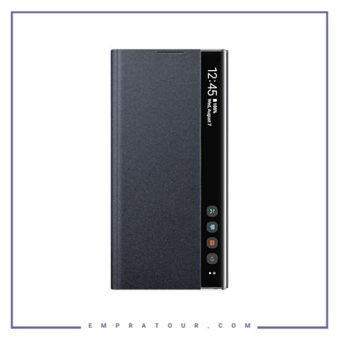 کیف کلاسوری شرکتی سامسونگ مدل SMART CLEAR VIEW COVER EF-ZN975 NOTE 10 PLUS