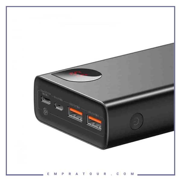 پاوربانک 20000 فست شارژ 22.5 وات بیسوس Baseus Adaman Metal Digital Display QC3.0 PPIMDA-A0A
