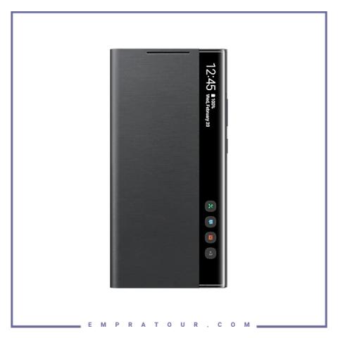 کیف کلاسوری شرکتی سامسونگ مدل SMART CLEAR VIEW COVER EF-ZN985 NOTE 20 ULTRA